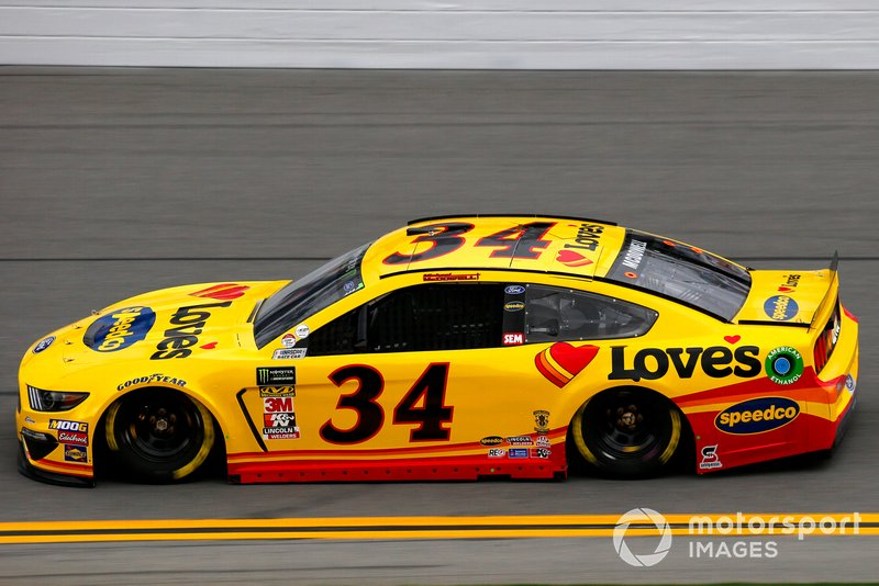 34. Michael McDowell, Front Row Motorsports, Ford Mustang
