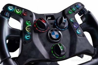 Fanatec steering wheel BMW M4 GT3