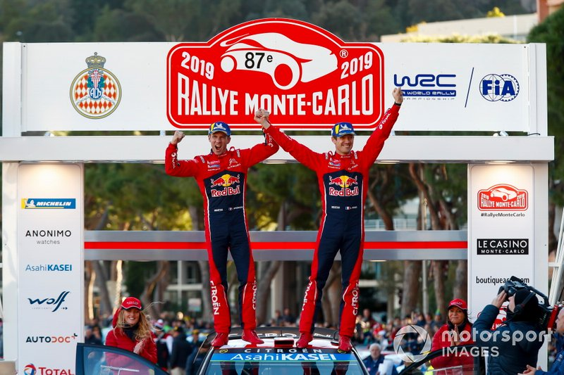 Ganador, Sébastien Ogier, Julien Ingrassia, Citroën World Rally Team Citroen C3 WRC