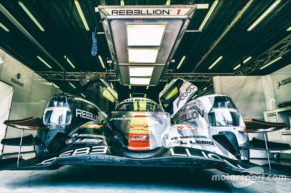 #1 Rebellion Racing R-13 - Gibson