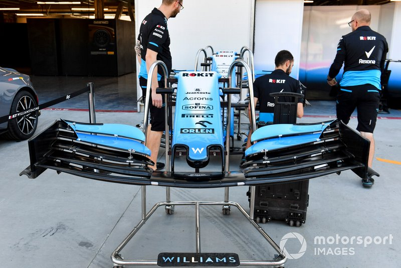 Front wing of Williams Racing FW42