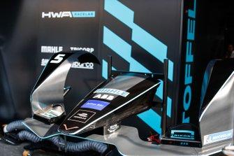 El alerón delantero de Stoffel Vandoorne, HWA Racelab, VFE-05