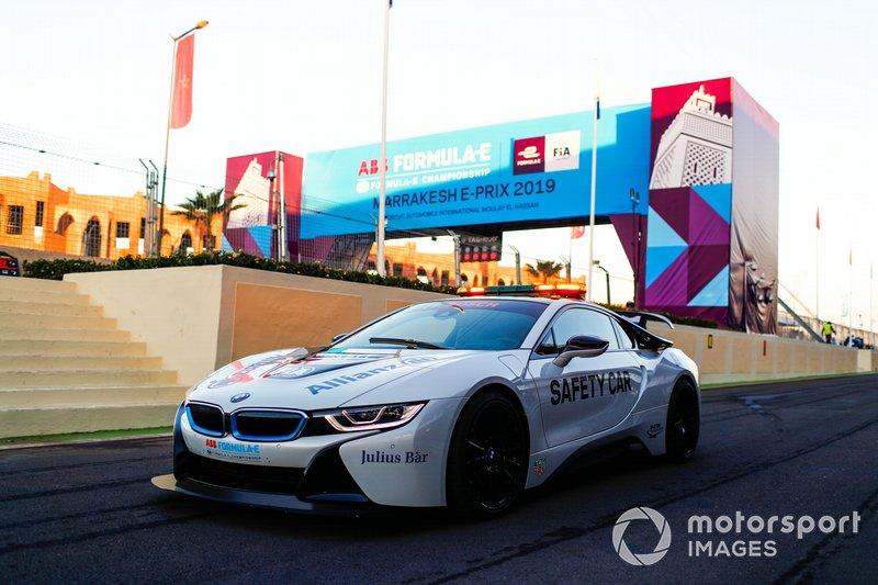 Qualcomm BMW i8 Safety Car