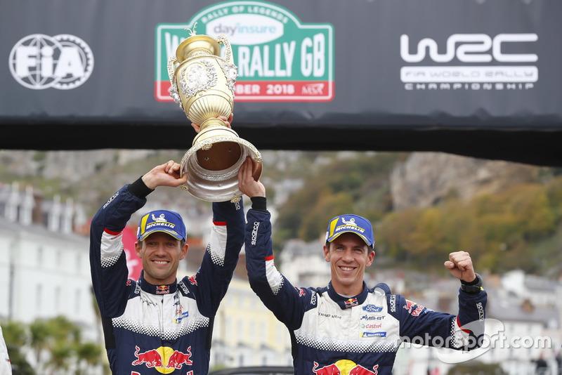 Ganadores, Sébastien Ogier, Julien Ingrassia, M-Sport Ford WRT Ford Fiesta WRC