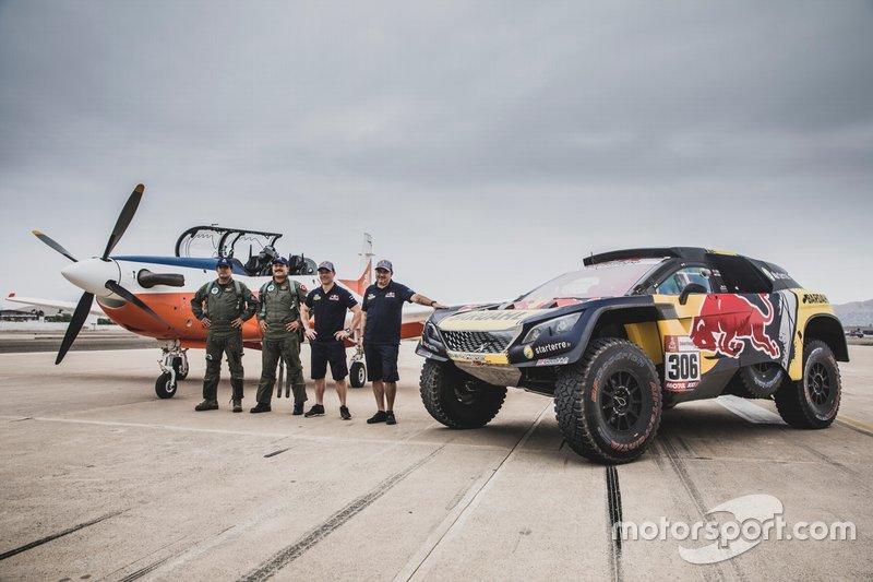 Себастьян Льоб, Даніель Елена, PH Sport, після перегонів із літаком