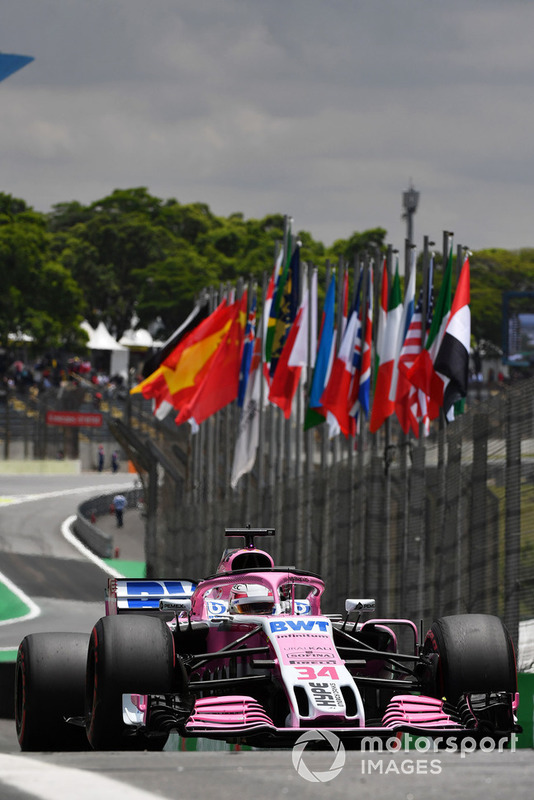 Nicholas Latifi, Racing Point Force India VJM11