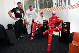 Andy Priaulx, David Coulthard, Sebastian Vettel, Mick Schumacher