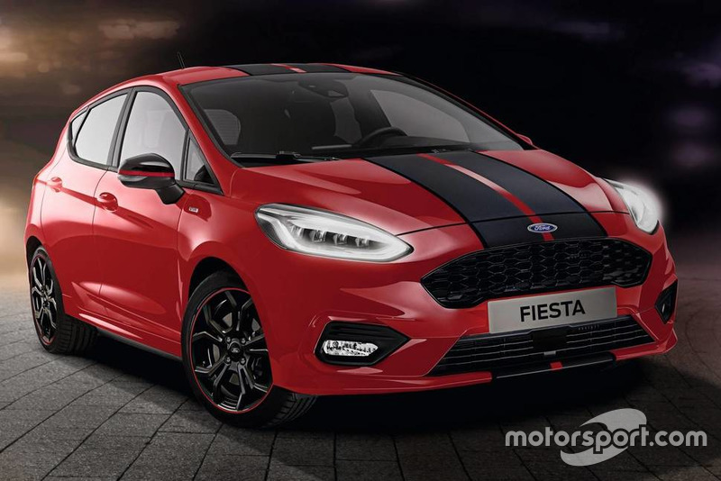 Ford Fiesta ST-Line Red and Black editions