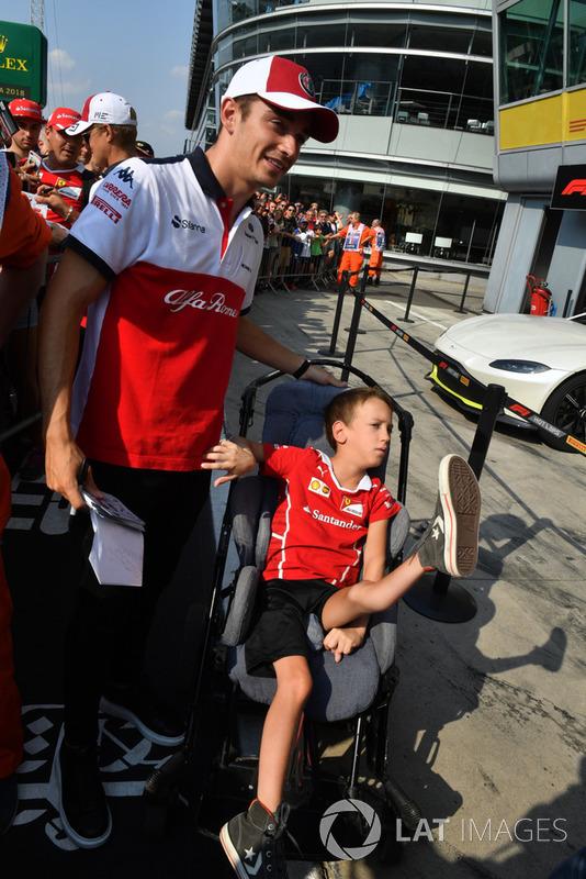 Шарль Леклер, Sauber F1 Team