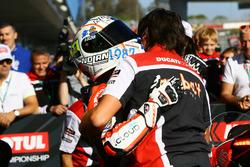 Marco Melandri, Ducati Team en pole position