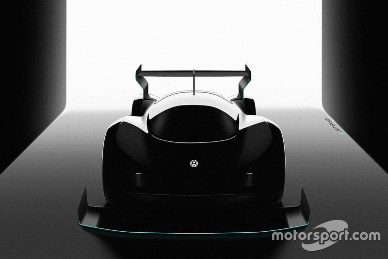 Volkswagen Pikes Peak 2018 electric race car