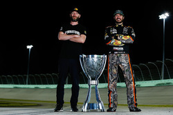 2017 champion Martin Truex Jr., Furniture Row Racing Toyota, crew chief Cole Pearn