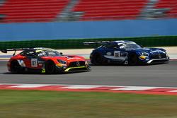 #87 Akka ASP Team Mercedes-AMG GT3: Nicolas Jamin, Felix Serralles, #88 Akka ASP Team Mercedes-AMG GT3: Raffaele Marciello, Michael Meadows