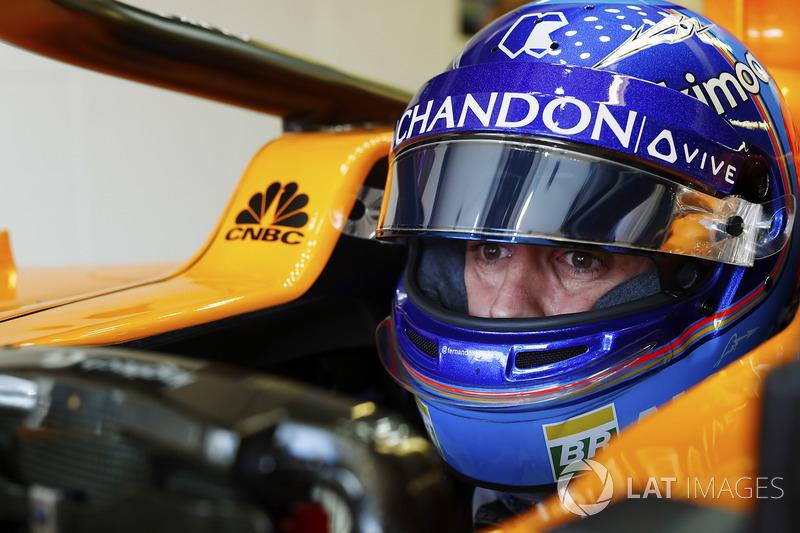 Alonso, 300. yarışını tamamlayamadı
