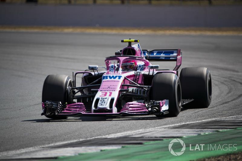 10. Esteban Ocon, Force India VJM11