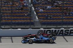 Ed Jones, Chip Ganassi Racing Honda, Robert Wickens, Schmidt Peterson Motorsports Honda