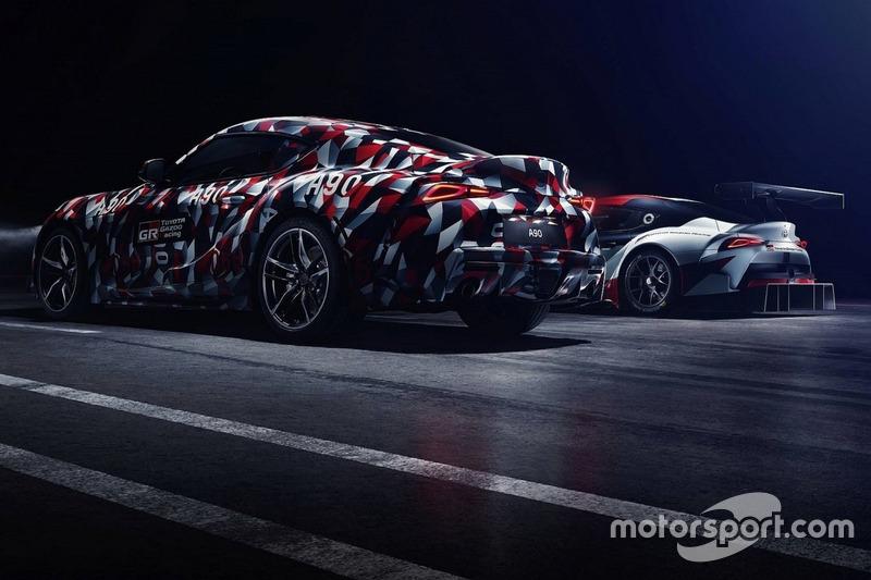 Teaser Toyota Supra 2019