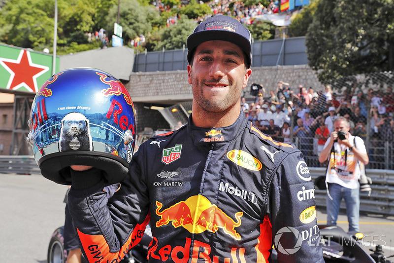 Обладатель поула Даниэль Рикардо, Red Bull Racing