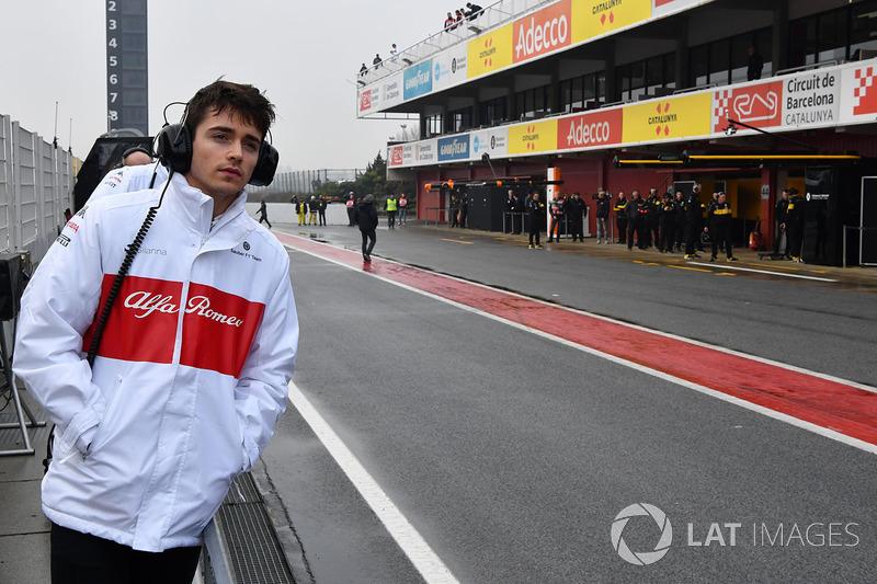 Assim como o companheiro de equipe de Ericsson, Charles Leclerc