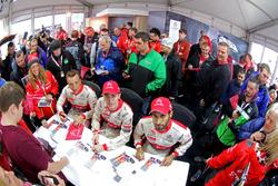 Khalid Al-Qassimi, Citroën World Rally Team, Craig Breen, Citroën World Rally Team, Kris Meeke, Citroën World Rally Team