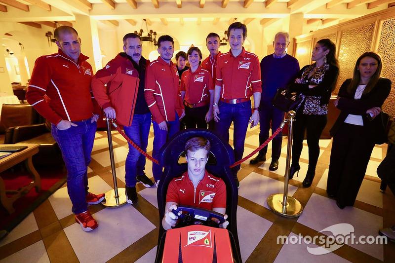 Тренування у таборі Гоночної Академії Ferrari