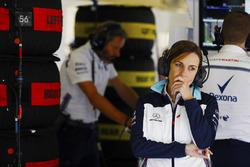 Claire Williams, Deputy Team Principal, Williams Martini Racing