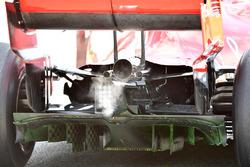 تفاصيل الناشر الخلفي لسيارة فيراري اس.اف71اتش