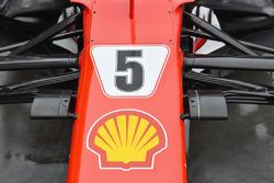 Ferrari SF70H: Nase mit Kameras