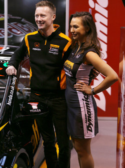 Gordon Shedden with a lovely girl