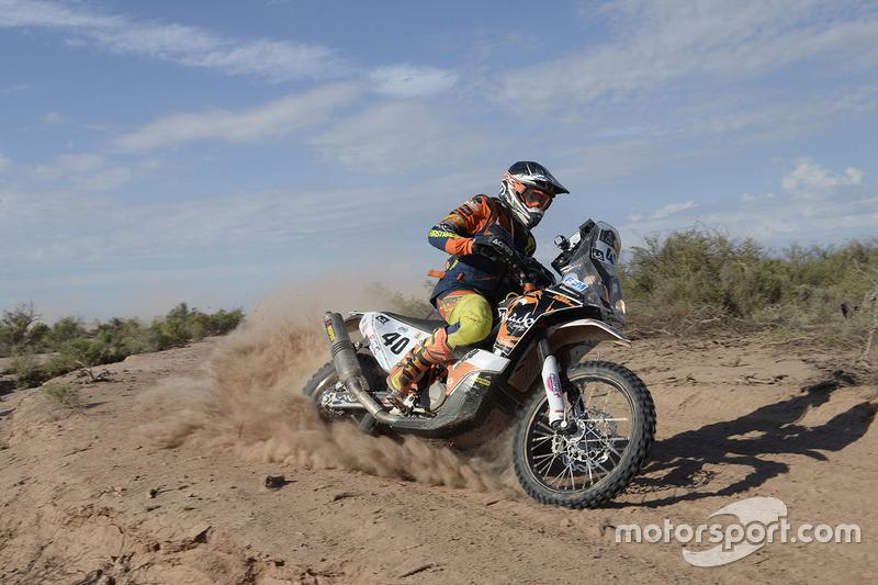 #40 KTM: Loic Minaudier