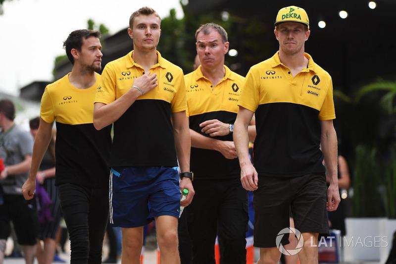 Джоліон Палмер, Сергій Сироткін, Алан Пермейн, Ніко Хюлькенберг, Renault Sport F1 Team