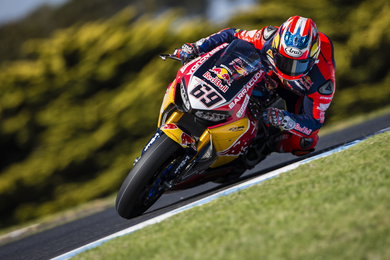 2017: Nicky Hayden, Honda World Superbike Team