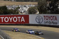 Martin Truex Jr., Furniture Row Racing Toyota, A.J. Allmendinger, JTG Daugherty Racing Chevrolet, Kyle Busch, Joe Gibbs Racing Toyota