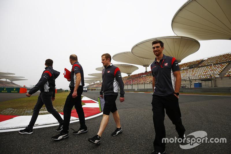 Miembros de Haas F1 Team