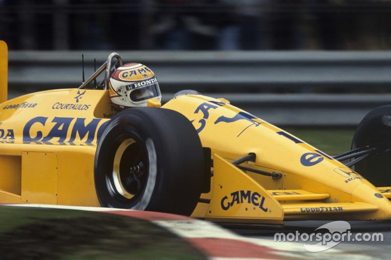 1988: Нельсон Пике (из Williams в Lotus)