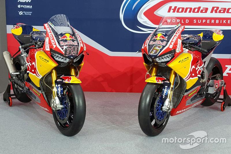 Bikes of Nicky Hayden, Honda World Superbike Team, Stefan Bradl, Honda World Superbike Team
