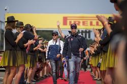 Даниил Квят, Scuderia Toro Rosso, и Фелипе Масса, Williams