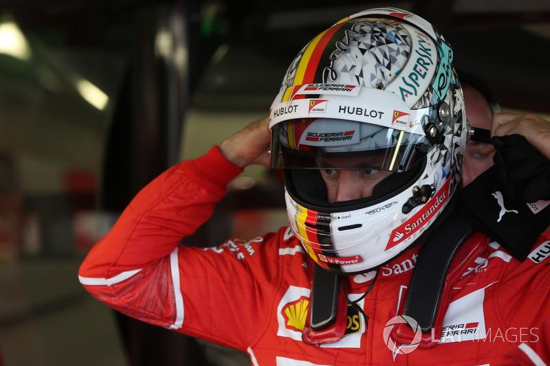 Grande-Bretagne - Sebastian Vettel