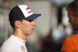 Pierre Gasly, reservecoureur, Red Bull Racing