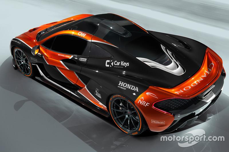McLaren P1 im McLaren-Design