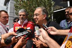 Sergio Marchionne, CEO FIAT talks, the media