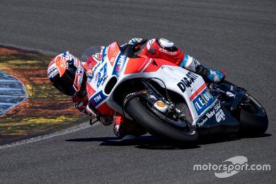 Valencia, test Ducati