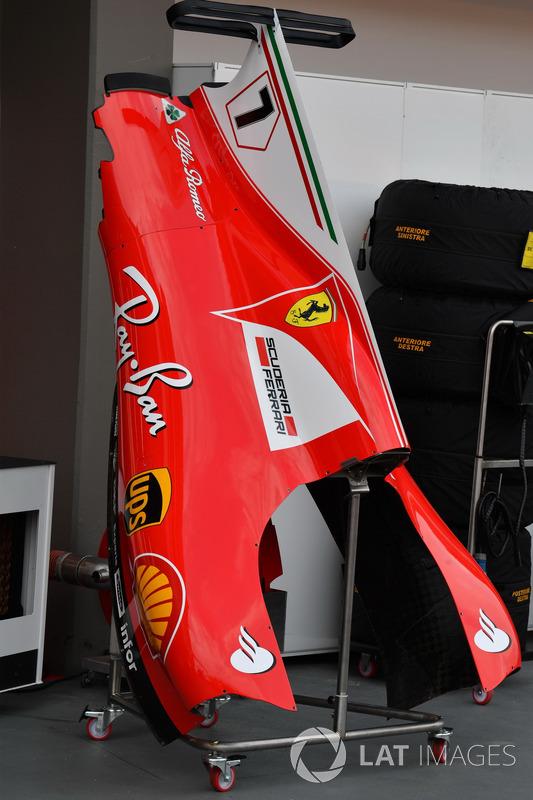 Ferrari SF70H, Karosserie