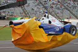 Coche chocado de Helio Castroneves, Team Penske Chevrolet