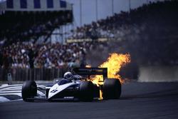 Motorschaden: Andrea de Cesaris, Brabham BT56