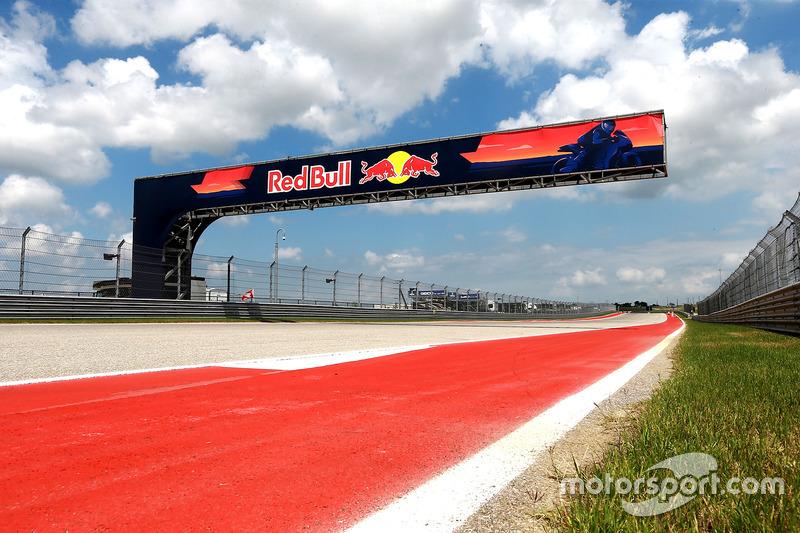 Aspectos del Circuito de las Américas y Red Bull