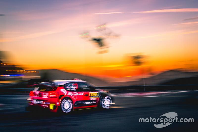4. Kris Meeke, Paul Nagle, Citroën C3 WRC, Citroën World Rally Team