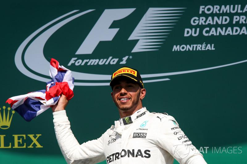 Kanada GP - Kazanan Lewis Hamilton