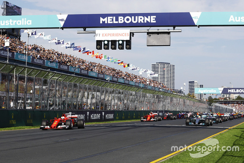O GP da Austrália é realizado oficialmente pela Fórmula 1 desde 1985. No início, a prova era corrida em Adelaide. A partir de 1996 ela passou a ser disputada no circuito atual, na cidade de Melbourne.