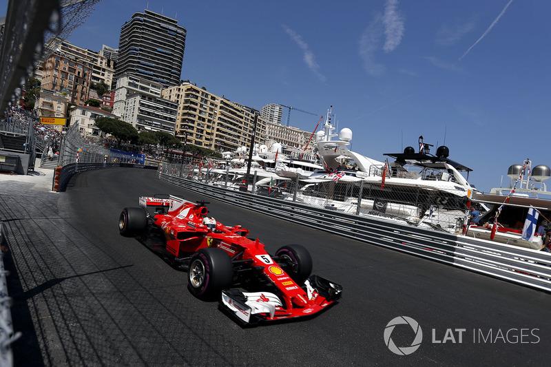 Monaco GP: Sebastian Vettel, Ferrari SF70-H